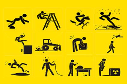 דוגמאות לתאונות עבודה